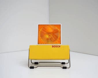 Bosch signal light for cool industriel decoration - German vintage design from the 1970s
