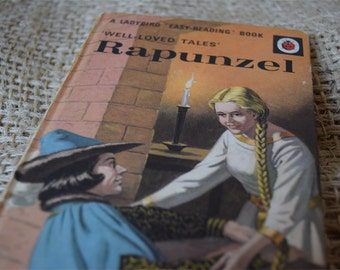Rapunzel. Well Loved Tales. A Vintage Ladybird Book. Series 606D