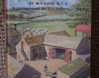 The Farm. Learning to Read.  A Vintage Ladybird Book. Series 563