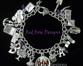 Pretty Little Liars Themed Charm Bracelet