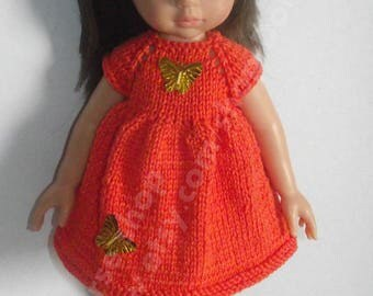Handknitted Set for Paola Reina and Corolle Les Cheries 13  dolls