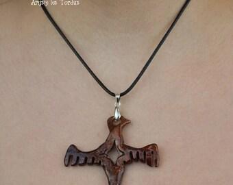 Inca Bird Totem Pendant 2