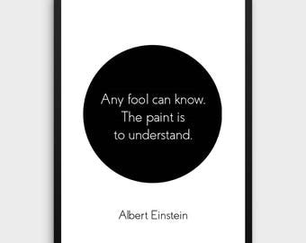 Literature Poster | Albert Einstein, Philosophy, Learning Quote, Reading, Learning, Books, Quotes, Inspirational, Literature, Book Decor
