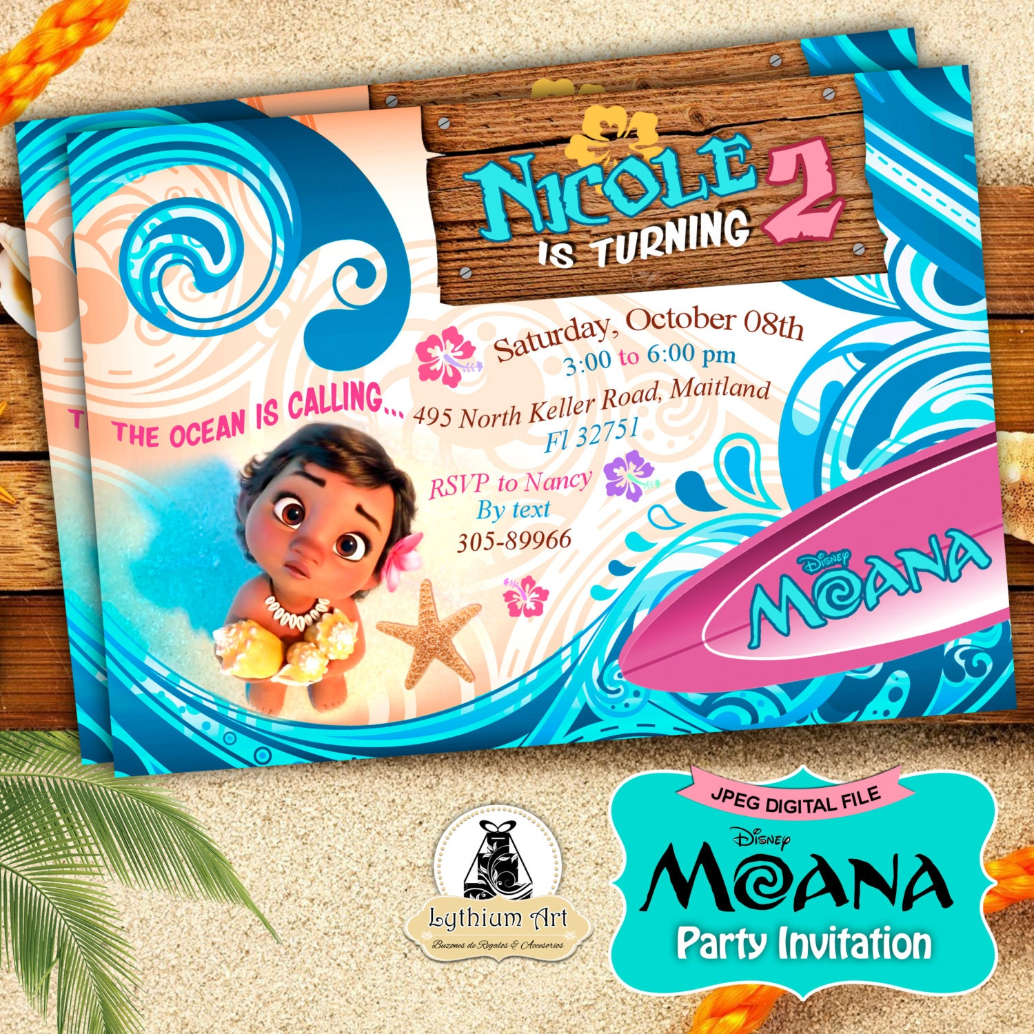 princess invitations moana invitation moana party invitation moana birthday party disney moana moana printables custom invitation disney princess