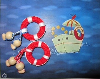 twins boys nautical great gift twins baby gift twins boys baby shower mom twins first teether lifebuoy natural teething maritime gifts baby