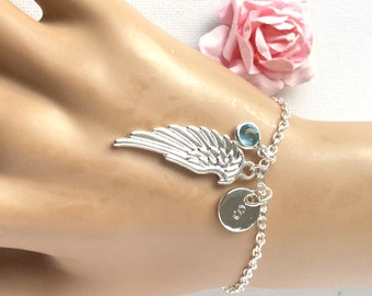 Angel wing bracelet, angel bracelet, angel bangle, angel wing jewellery, angel wing jewelry, angel wing