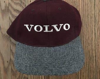 Vintage Volvo Cars Snapback Hat Baseball Cap