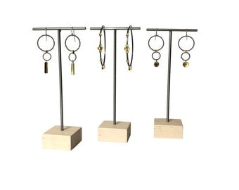 Metal Earring Display Stands Earring stand Etsy 25