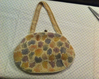 Multi Color Beaded Purse - free shipping