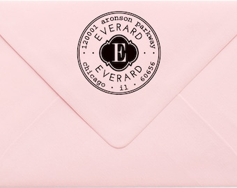 Address Stamp, Custom Personalized Address Stamp, Self Inking Return Address Stamp, Personalized Address Stamp, Custom Wedding Stamp 775
