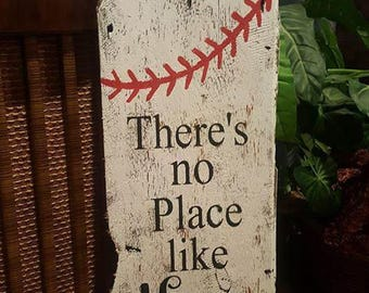 "Custom Made ""There  is No Place Like Home"" Sign from Reclaimed Barn Wood for Wall Decor or Your Porch"