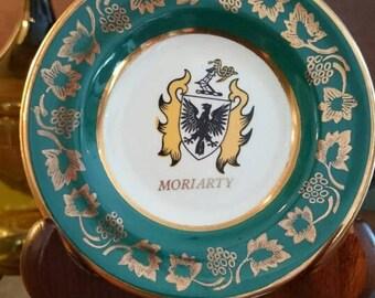 Moriarty Miniature China Plate Ireland/Moriarty