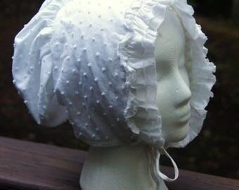 reproduction Victorian day bonnet