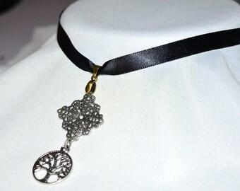 Tree of Life Boho Empowering Choker Necklace