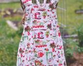 Retro Kitchen - Farm Girl Work Apron | Ready to Ship!