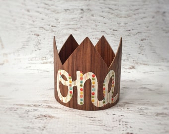 First Birthday Boy Crown- Boy 1st Birthday Hat, Smash Cake Crown, Cake Smash Outfit Boy, 1st Birthday Boy Outfit, Birthday Crown Boy