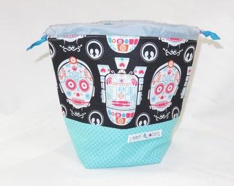 Sock Project Bag // Emily Sack // Sugar Droids