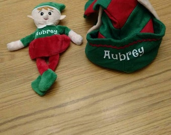 Personalized Christmas Elf Hats with Ears