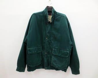 Eddie Bauer Down Jacket Vintage Eddie Bauer Goose Down Jacket Plaid Lining Hunting Jacket Men Size L