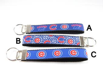 Chicago Cubs Key Chain/Key Fob/Wristlet