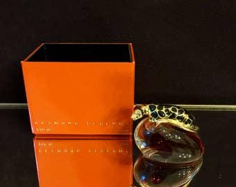 Beverly Hills Perfume Gayle Haymen 1/4 oz unused. Leapord bottle 1990