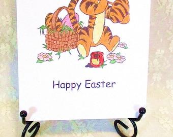 Tigger Easter Card