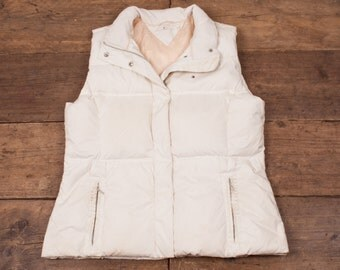 Womens Tommy Hilfiger Vintage Padded Gilet Down Lining White XXL / 16 R3988