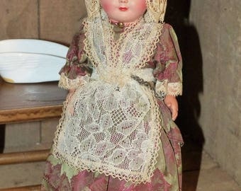 Celluloid Antique Doll Germany - 2326