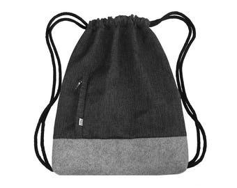 Felt backpack | Etsy