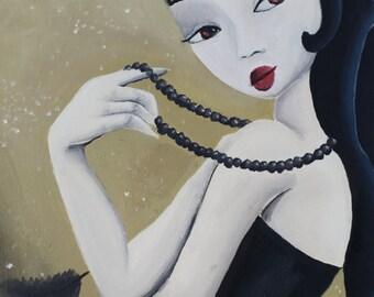 Geisha, original picture of María Mediodía