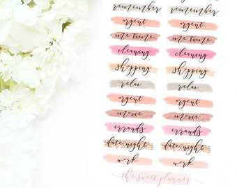 DAILY REMINDERS | Deco Sticker Sheet
