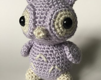 Baby Owl, Crochet Owl, Amigurumi Owl, Owl Plush, Owl Stuffed Animal, Owl, Handmade Stuffed Animal, Crochet Animal, Woodland Plush