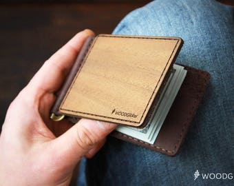 mens wallet slim men wallet money clip wallet groomsmen gift for mens gift anniversary gifts for boyfriend gifts for men personalized wallet