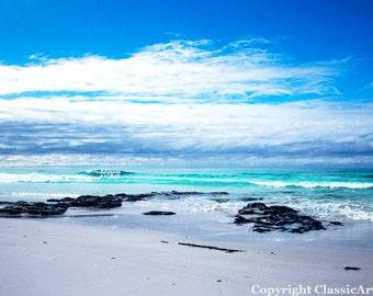 Beach Photography, Beach Print, Beach Photo, Digital Download, Landscape Photography, Ocean Photography, Coastal Art, Seascape