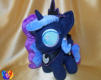 My Little Pony chibi plushie MLP Princess Luna Celestia Spitfire Applejack Trixie