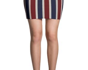 American flag Skirt - 4th of July Skirt - Fourth of July Skirts - Patriotic Mini Skirt - Flag costume - Summer Skirt