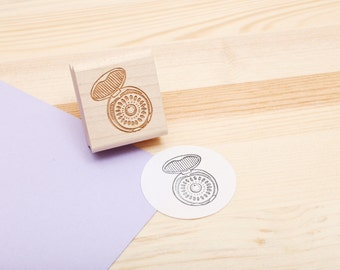Birth Control Rubber Stamp