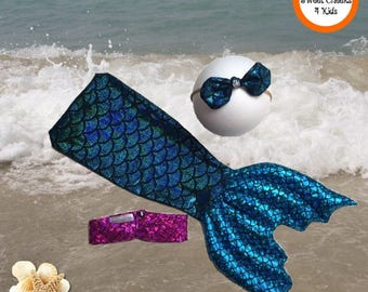Mermaid Outfit Baby Girl Mermaid, Mermaid Tail Cocoon, Little Mermaid Costume, Baby Mermaid Tail, Mermaid Photo Prop, Mermaid Baby Costume