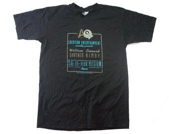 90s Vintage Star Trek Tee - William Shatner Leonard Nimoy Vintage 90s Star Trek Trekkie Tshirt - XL