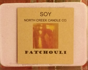 Pathchouli wax melt 3.5 to4 0z TAKE20ONSOY coupon.  20% off
