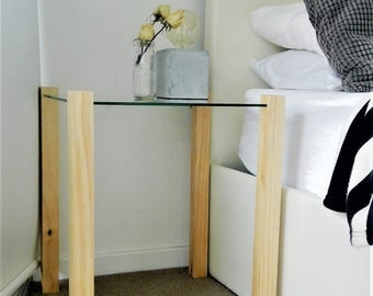Scandinavian style pair of bed side tables!!