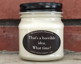 Funny Gift for Bestie - Funny Best Friend Gift - Funny Birthday Gift for Her - Funny Candles - Funny Scented Candles - Sarcastic Candle