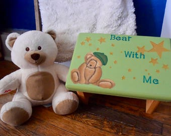 Bear With Me Children's Stool