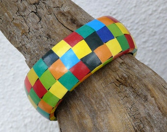Bangles KUNTERBUNT recycled paper upcycled