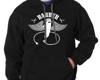 Barber Funny Sweatshirt Gift For Hairdresser Stylist Hooded Sweater Hair Stylist Hoodie Birthday Gift
