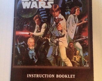 High Quality Glossy Super Star Wars (Super Nintendo, SNES) Video Game Manual Reproduction