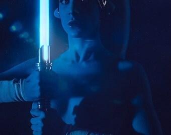 Nude Jedi Twi'lek - Cosplay Photo Print A4