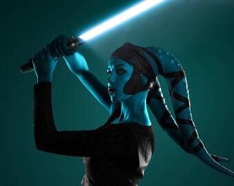 Twilek Aayla Secura/Oola/Lyn me cosplay costume from Star Wars