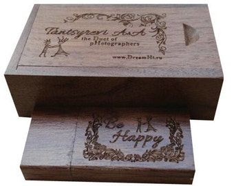 Personalised Weddings Mr & Mrs USB Memory Sticks Flash Drive, Company USB Brand Promotion