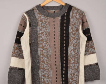 vintage cosby sweater, inspired by carlo colucci sweater, vintage inspired by coogi sweater, biggie sweater,90's sweater